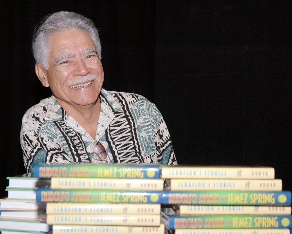 Rudolfo Anaya Visits The Bosque School