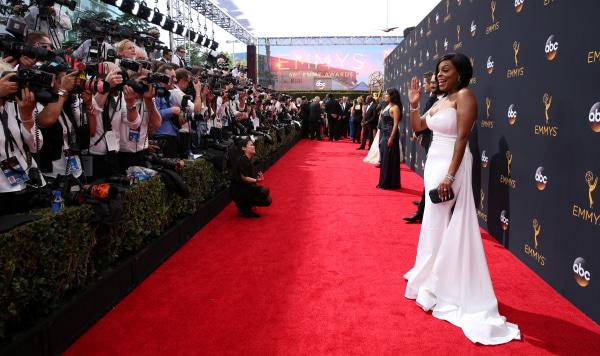 IMAGE: Emmy arrivals