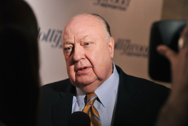 Image: Roger Ailes, President of Fox News Channel
