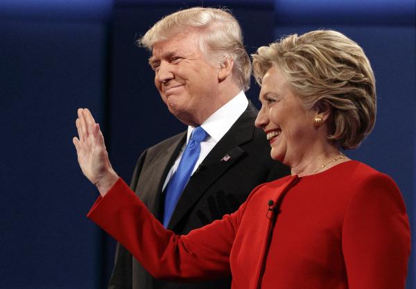 Image: Donald Trump, Hillary Clinton
