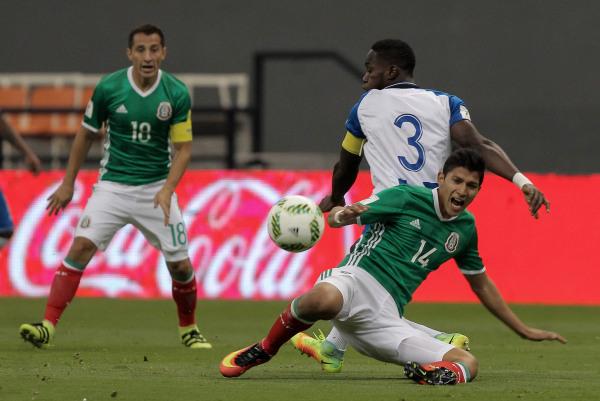Image: Mexico vs Honduras