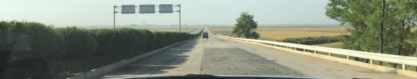 Image: The road from Pyongyang, North Korea, to the DMZ