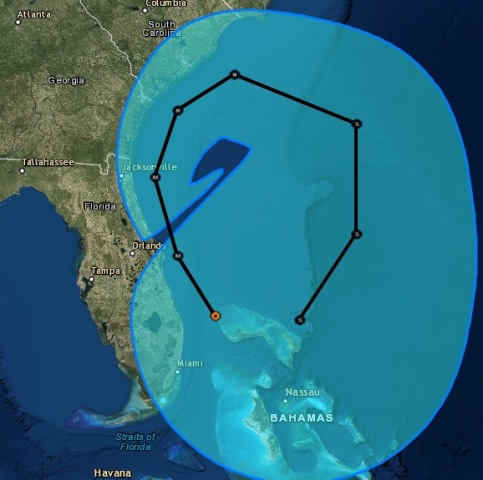IMAGE: Hurricane Matthew possible long-term path