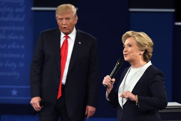Image: TOPSHOT-US-VOTE-DEBATE