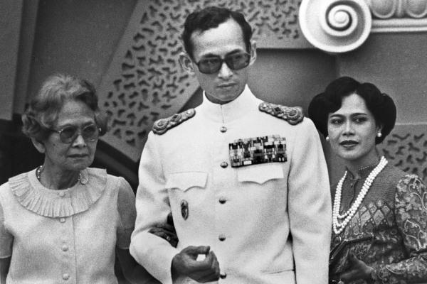 Image: Thai King Bhumibol Adulyadej in 1982