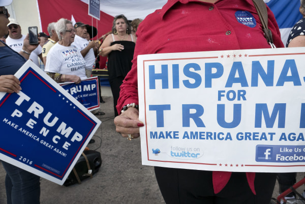 Image: Cubans support Donald Trump campaigns in Miami, Florida
