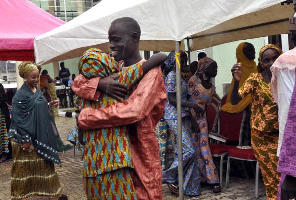 IMAGE: Nigerian families reunite