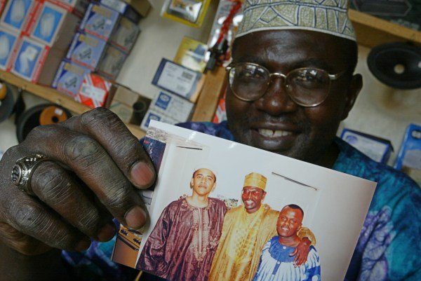 Image: Malik Obama, the older brother of  US President Barack Obama