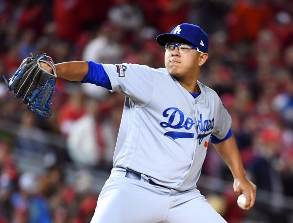 Image: MLB: NLDS-Los Angeles Dodgers at Washington Nationals