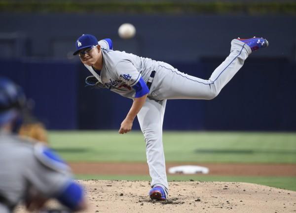 Image: Los Angeles Dodgers v San Diego Padres