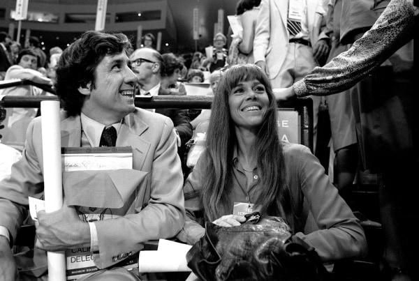 Image: Tom Hayden and Jane Fonda in 1976