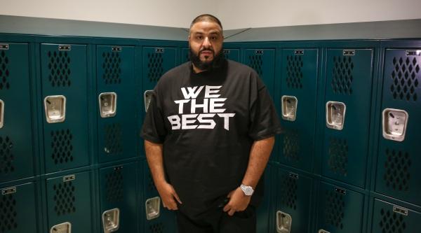 DJ Khaled Visits Miami Beach High School