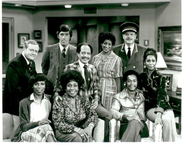 The Jeffersons Cast and Norman Lear