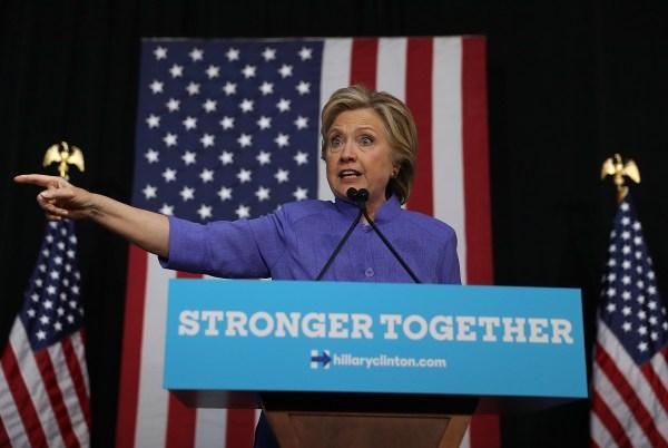 Image: Hillary Clinton in Florida