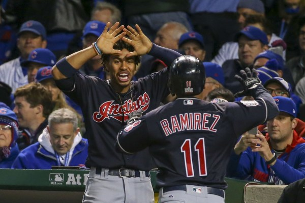 Image: MLB: World Series-Cleveland Indians at Chicago Cubs