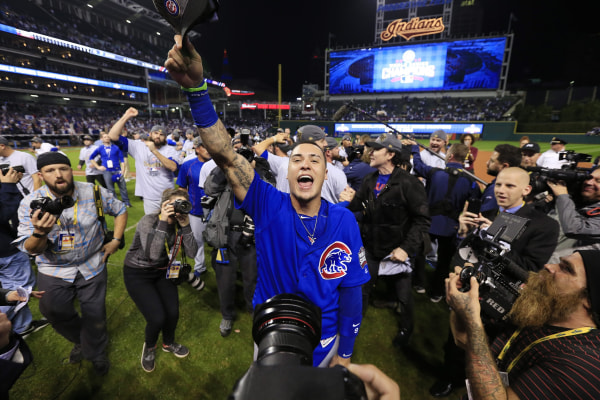 Image: Chicago Cubs at Cleveland Indians
