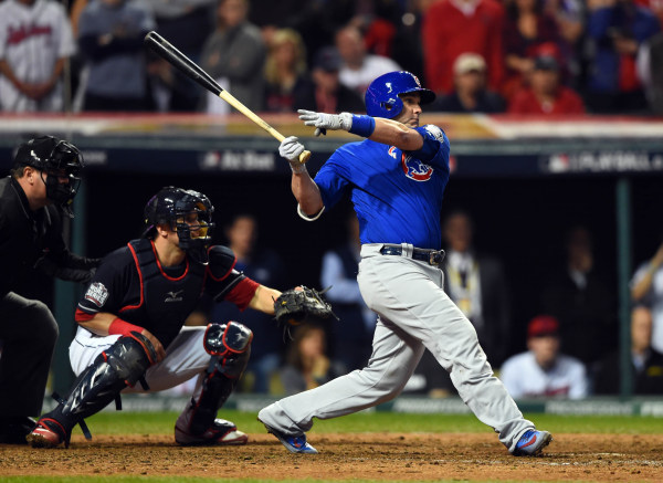 World Series-Chicago Cubs at Cleveland Indians