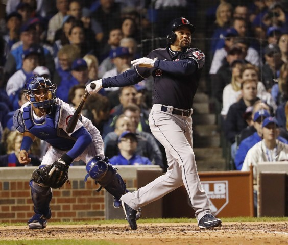 Image: Cleveland Indians at Chicago Cubs