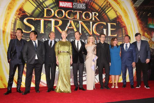 "Image: The Los Angeles World Premiere Of Marvel Studios' ""Doctor Strange"""