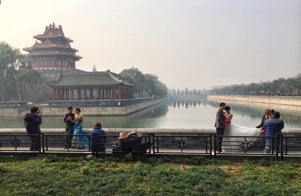 Image: Married couples in Bejing