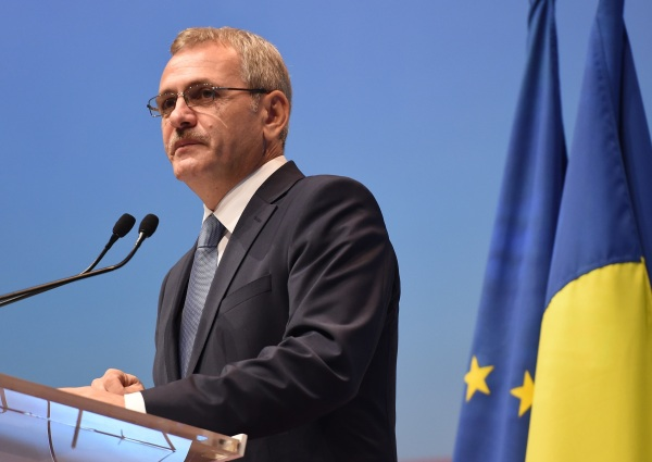 ROMANIA-POLITICS-SOCIAL DEMOCRATIC PARTY-LIVIU DRAGNEA