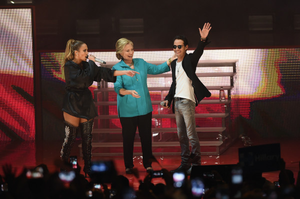 Image: Jennifer Lopez Gets Loud For Hillary Clinton At GOTV Concert In Miami