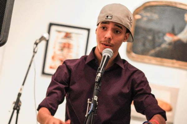 Sergio Jimenez, 20, studies creative writing at Brooklyn College and lives in The Bronx