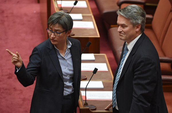 Image: Australian Senate rejects same-sex marriage plebiscite proposal