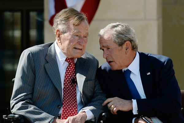 Image: George W. Bush Library Dedication Attended By President Obama And Former Presidents