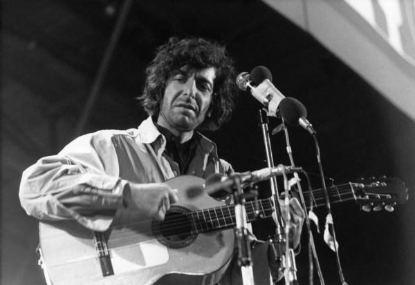 Image: Leonard Cohen in 1970