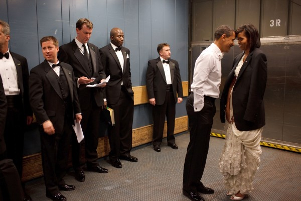 Obaam Attends Inaugural Ball