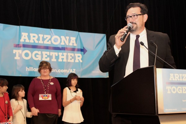 Adrian Fontes, a Democrat and political newcomer, was elected as the new Maricopa County recorder.