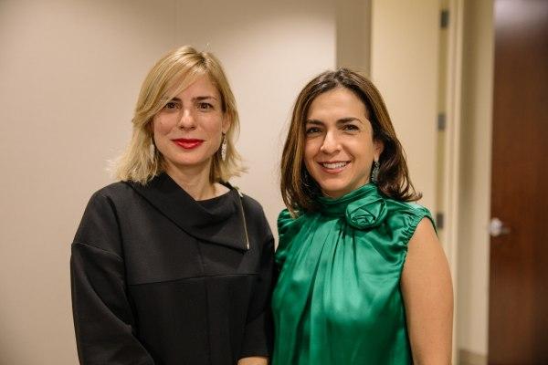 Lucienne Gigante (L) and Marta Michelle Colon (R)