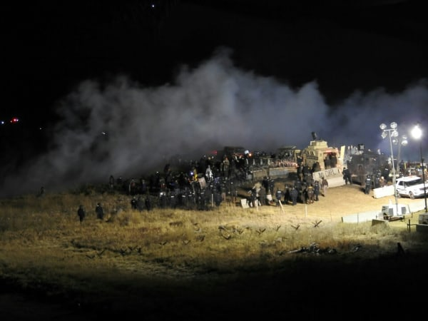 IMAGE: Dakota Access Pipeline protest
