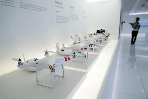 Image: DJI drones