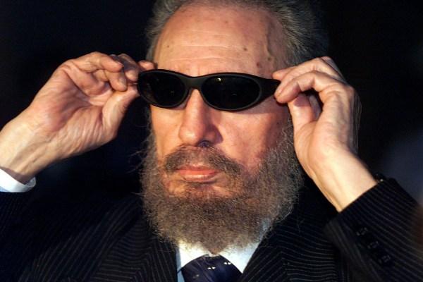 Image: Fidel Castro in 1999