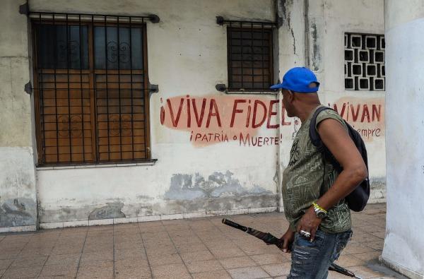 Image: CUBA-CASTRO-DECEASE