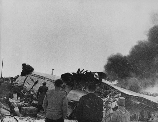 Image: Munich plane crash in 1958