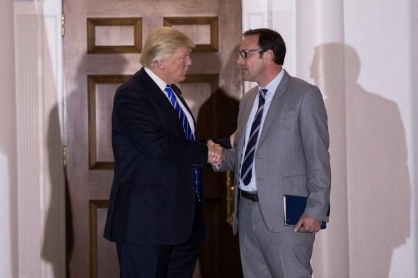 Image: Donald Trump and Todd Ricketts