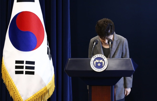 Image: South Korean President Park Geun-hye