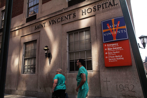 St. Vincent's Hospital In Manhattan To Close