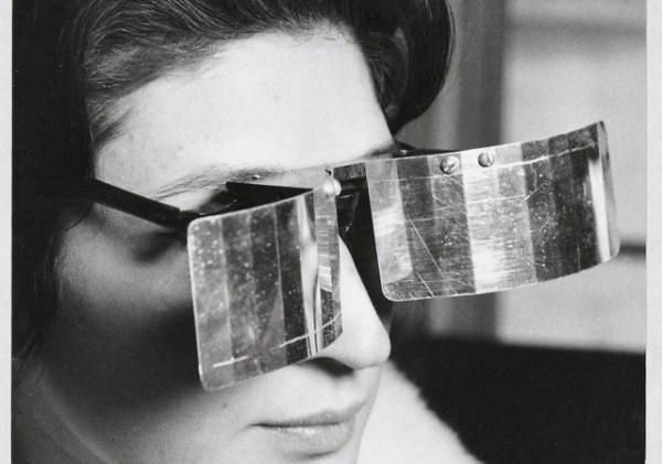 Martha Le Parc with Lunettes pour une vision autre (Glasses for Another Vision)