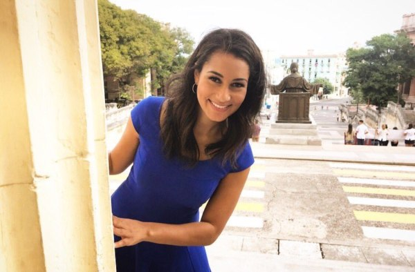 Morgan Radford revisiting sites she would visit as an exchange student in Havana, Cuba.