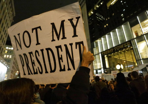 Image: US Presidential Election Protest