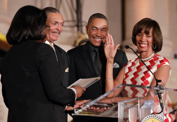 Image: Catherine Pugh, Ardell Crump, James Crump, Shirley Watts
