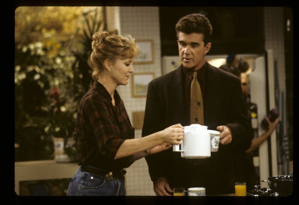 Image: Joanna Kerns and Alan Thicke