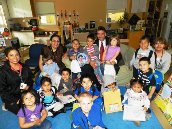 Cleofas Rodriguez Jr. of NMSHSA visits Oregon Child Development Coalition, Wilsonville, Oregon, Fall 2013.