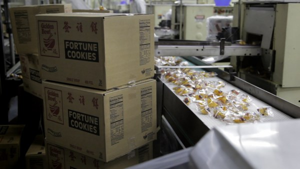 Wonton Food Inc., ships fortune cookies nationwide.