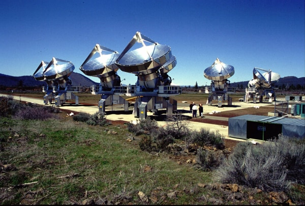 "Image: The Allen Telescope Array was ""designed to seek out signals from civilizations elsewhere in our galaxy,"" the SETI (Search for Extraterrestrial Intelligence) Institute said."