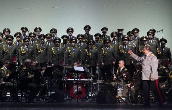 Image: Members of the Alexandrov Ensemble
